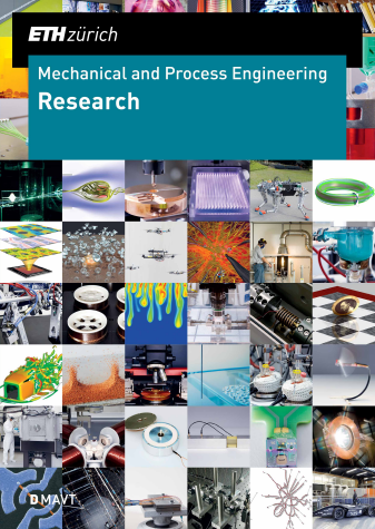 Cover Page of the D-MAVT Research brochure